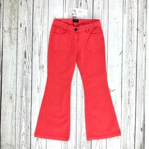 Hugo Boss coral flare jeans for girls, NEW